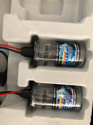 Repuesto bombillas kit xenon h4