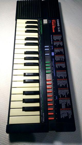 Órgano teclado electrónico CASIO SA-10