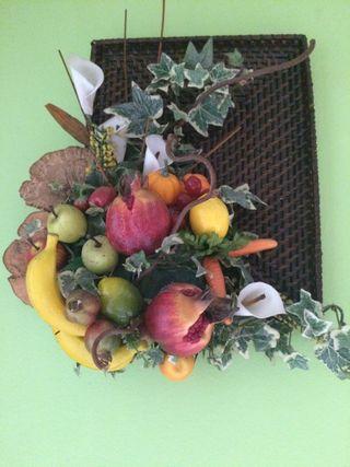 Cuadro de frutas para cocina