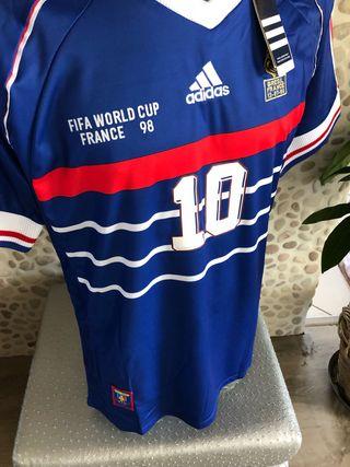 Maillot Adidas France 98 Zidane S