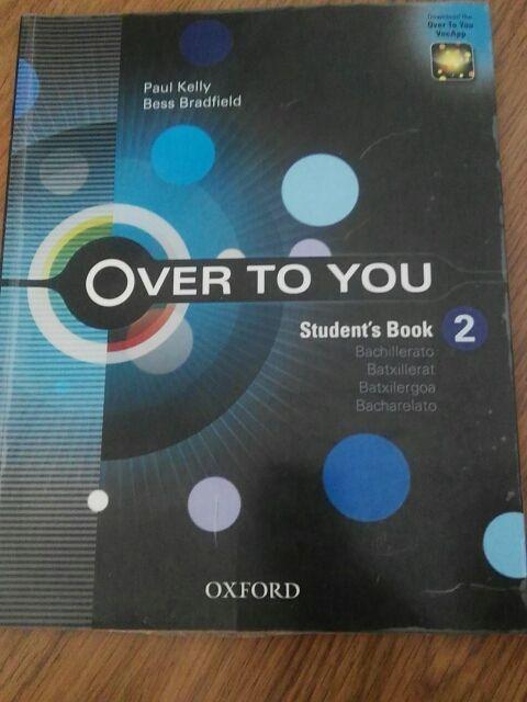 Libro de Inglés Over To You Student's Book