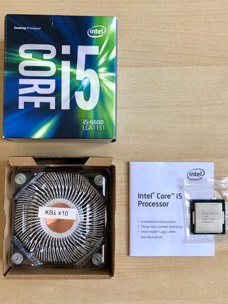 Procesador Intel Core i5 6600
