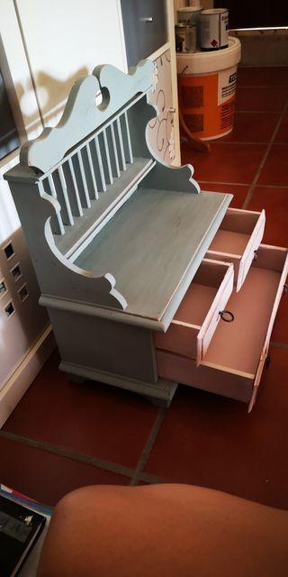 Mueble para entrada restaurado