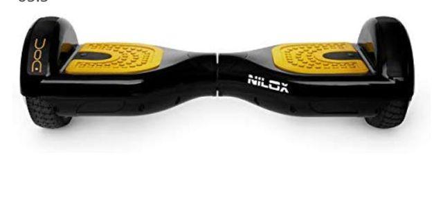 Nilox DOC Hoverboard unisex negro oro