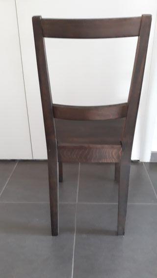 Cadira fusta