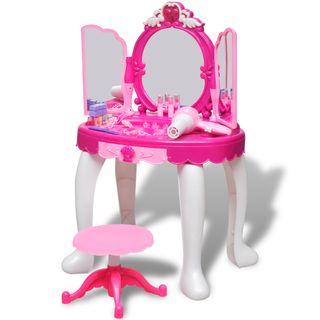 vidaXL Tocador de juguete de 3 espejos 80115
