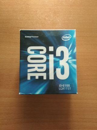 Procesador Intel Core i3-6100 3.7GHz