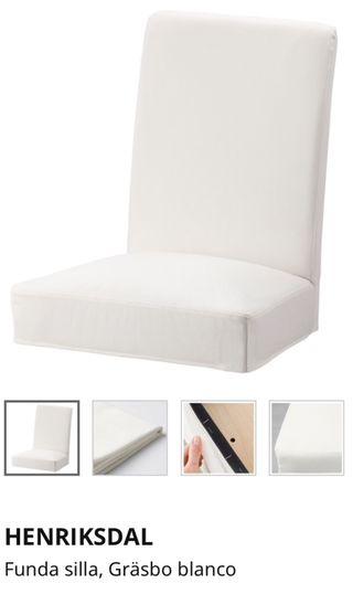 Silla Ikea modelo Henriksdal + funda