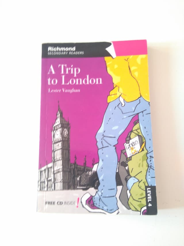 libro de inglés, a trip to london