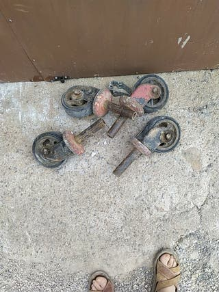 ruedas andamio