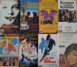 Lote de 11 películas en VHS
