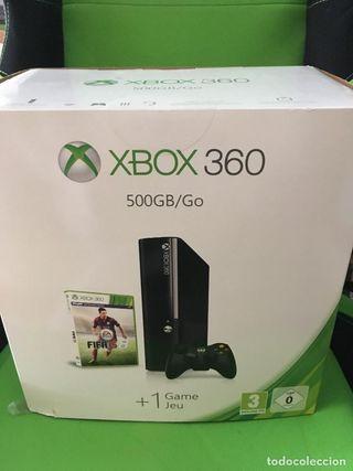 XBOX 360 500GB +juegos
