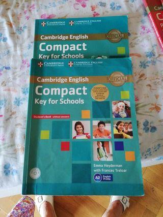Libros de inglés. Cambridge English. Compact key f