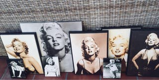 Cuadros de Marilyn