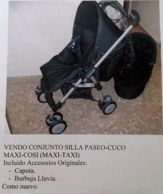 Conjunto silla paseo-cuco MAXI-COSI (MAXI-TAXI)