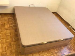 Canape abatible Madera FLEX + colchón 150cm
