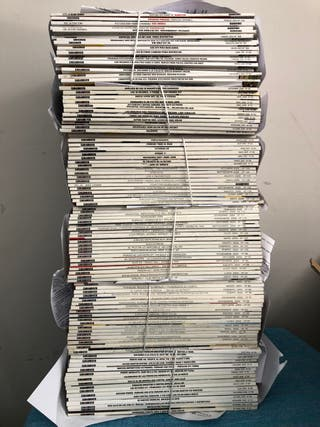 100 revistas Car and driver (98 a 2013)+ regalo