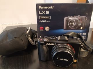Cámara Panasonic Lumix DMC-LX5 en perfecto estado
