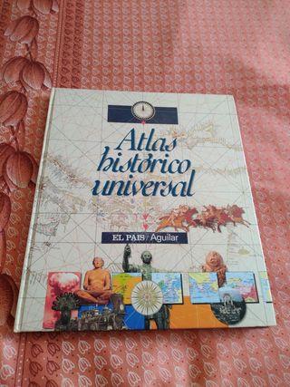 """Libro """"Atlas historico universal"""""""