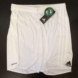 Adidas pantalón corto blanco M