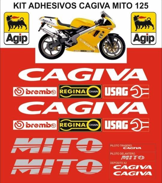 Kit de pegatinas Cagiva Mito 125