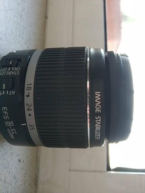 Objetivo Canon 18-55 mm