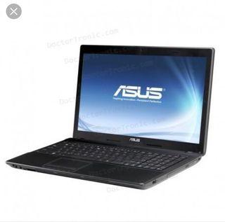 Portátil Asus A53S memoria 8GB y procesador i7