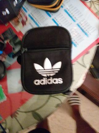 Bolso bandolera Adidas negro Unisex