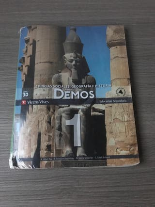 Libro de Ciencias Sociales, Geografía e Historia