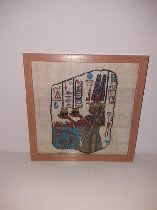 Cuadro papiro egípcio