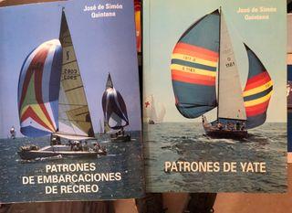 Libros de PNB y Patrón de yate