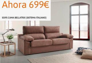 Sofa cama sistema italiano, nuevos
