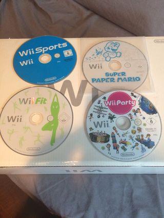 Juegos Wii varios