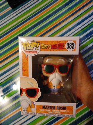 Funko Pop Maestro ROSHI Dragón Ball Z. Nuevo