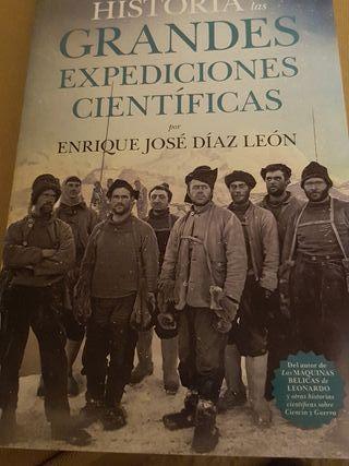 libro historia de las grandes expediciones cientif