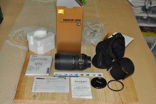 Objetivo NIKON AF-S VR 70-300MM F/4.5-5.6 G IF-ED