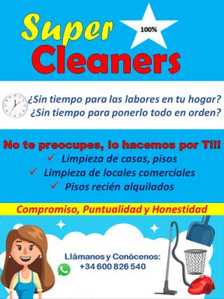 Super Cleaners-Limpieza