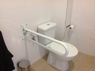 barra baño minusválidos