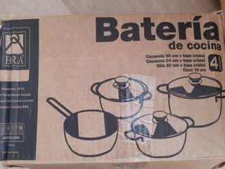 Batería de cocina A ESTRENAR!!