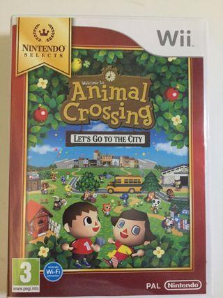Juego de la wii: Animal Crossing