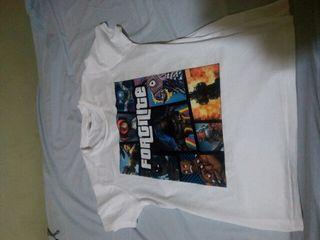Camiseta de fortnite