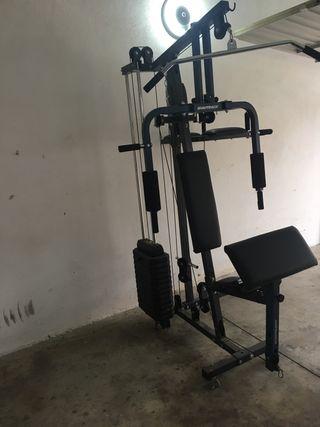 Maquina multifuncion para ejercicios