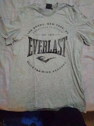 camiseta everlast talla L