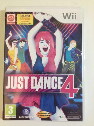 Juego de la wii: Just Dance 4