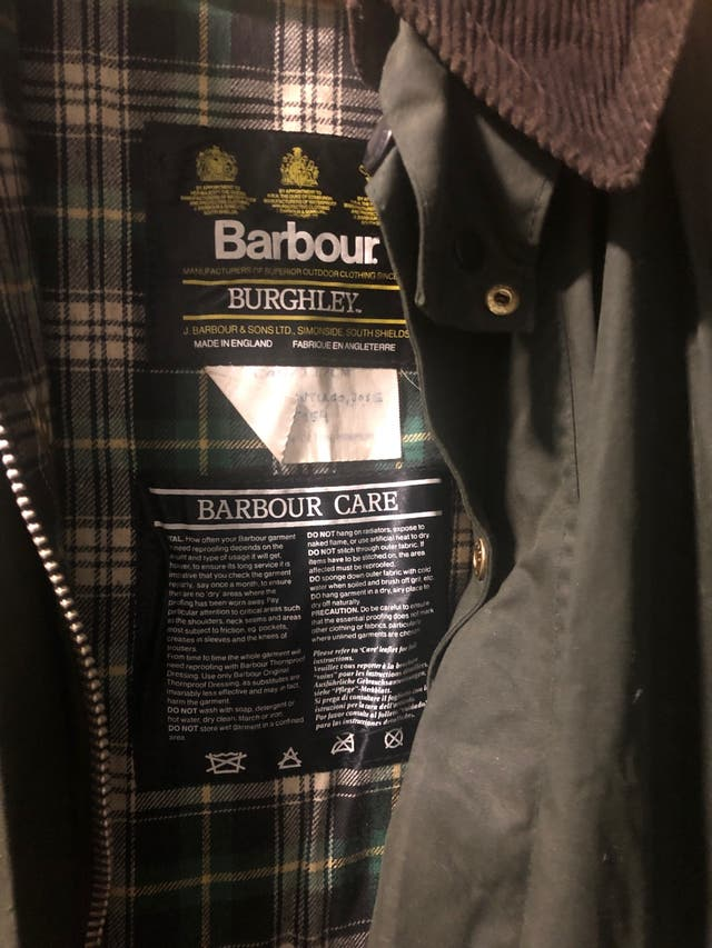 Abrigo barbour Care