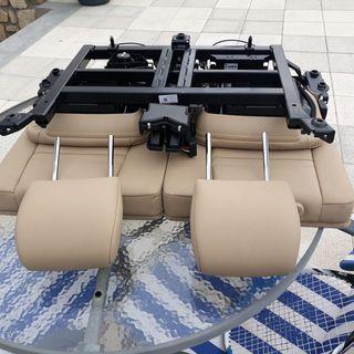 asientos traseros beige bmw x5 E70