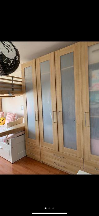 Armario de dormitorio 4 puertas