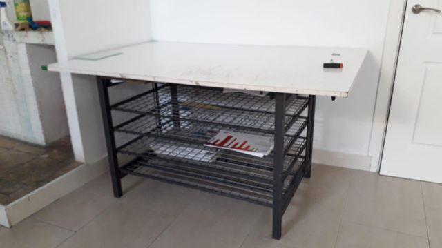 mesa de artista