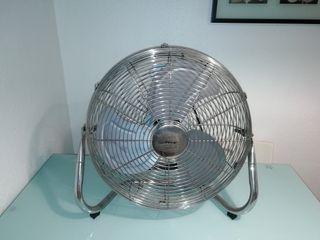 Ventilador Orbegozo acero inox.