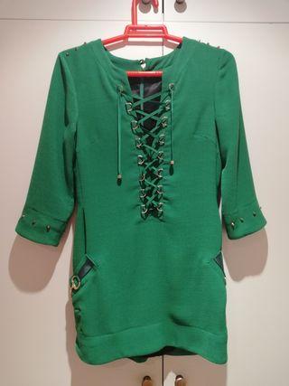 vestido verde Guppy Elche